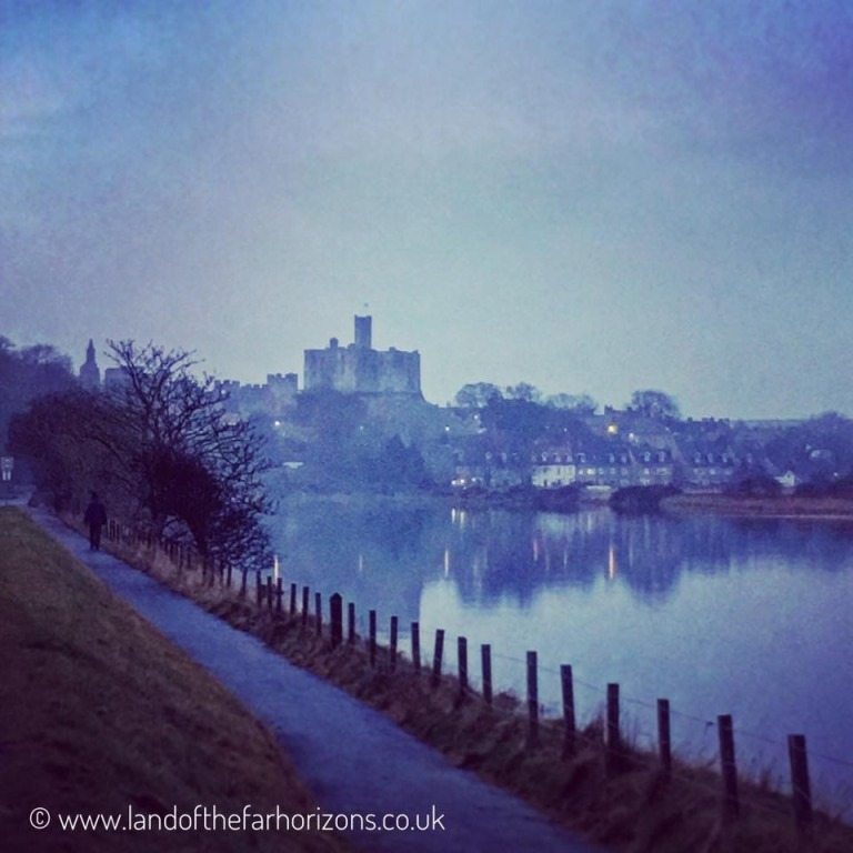 Warkworth Castle and river 17 Dec 2016, 15-46.02